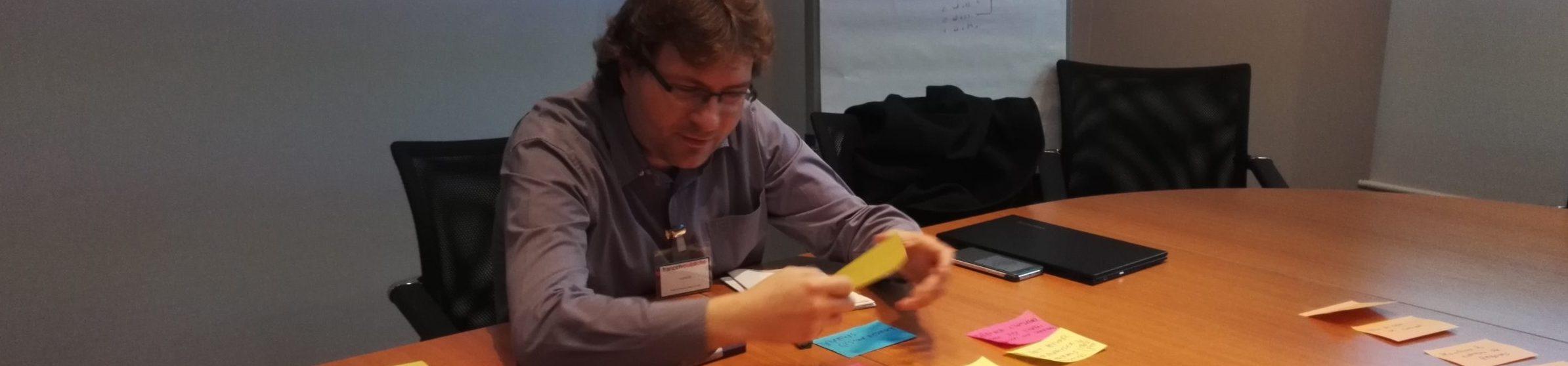 Travailler avec Jean-Pierre Lambert
